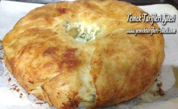 Kek Kalıbında Peynirli Börek Tarifi | Yemek Tarifleri Sitesi - Oktay Usta - Harika ve Nefis Yemek Tarifleri