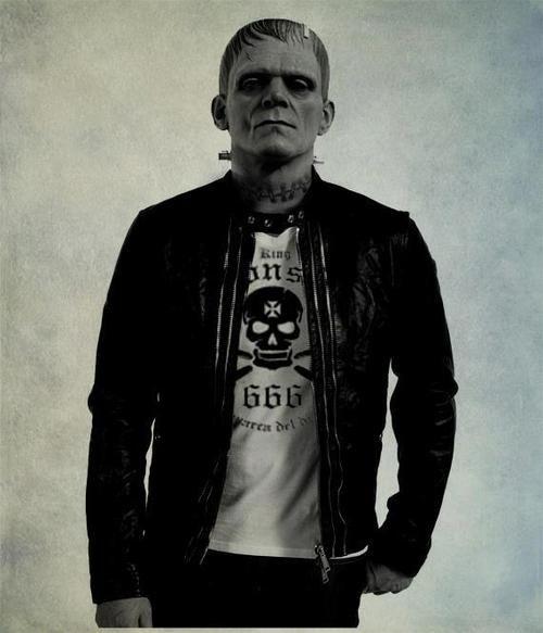 Frankenstein Mask sexy punk