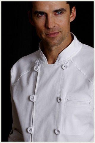 Shannon Reed - Designer Chef Jacket - Men's Steam