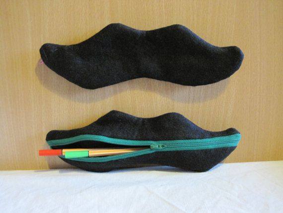 Mustache pencil case by NewLifeBags on Etsy, $13.15