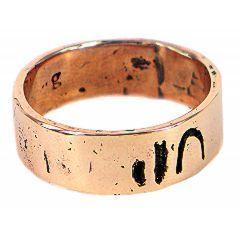 GIN037c, ginkoh jewellery,man wedding ring in bronze-1.jpg