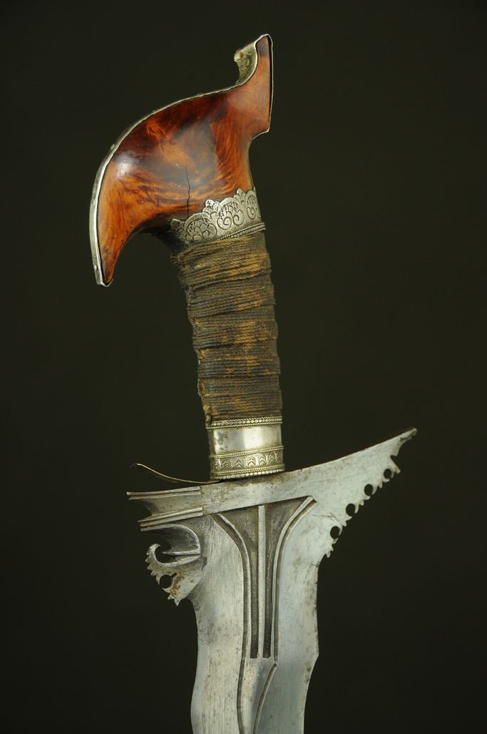 19th,large moro keris sword