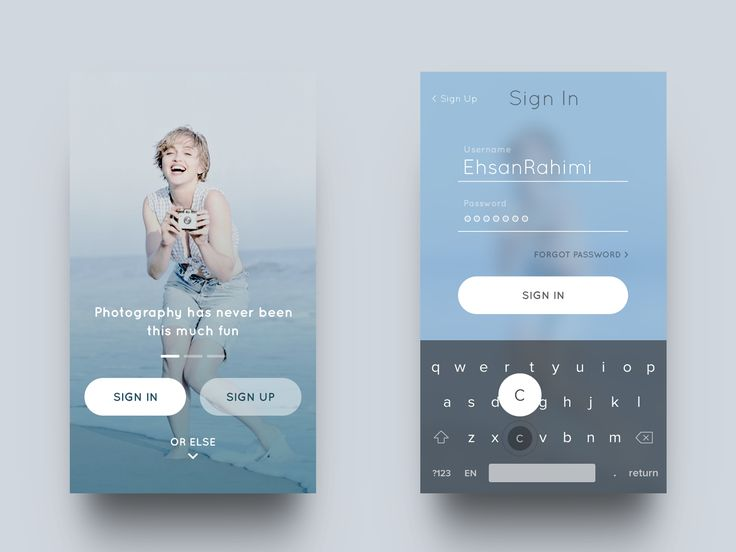 Ehsan Rahimi is a UI/UX designer based in Iran who specializes in Interaction…