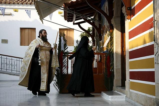 The monastery of St. Nektarios -  Aegina, Greece