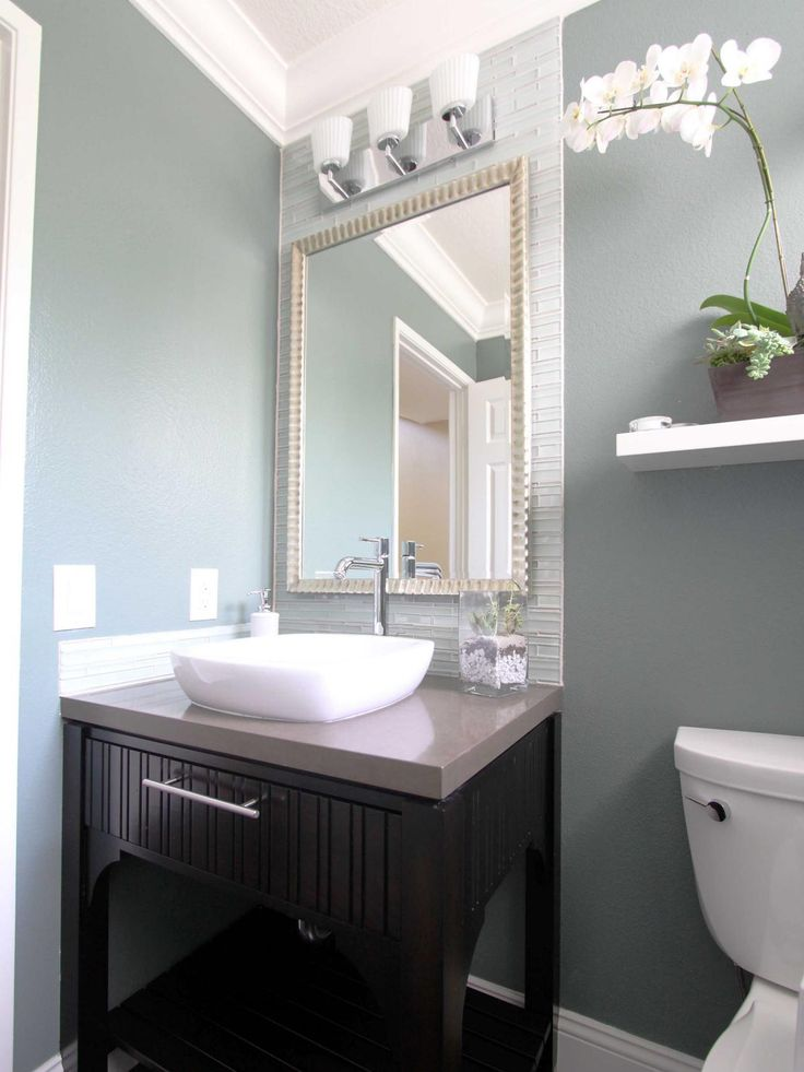 23 best images about bathroom on pinterest grey subway for Glass mirrors for bathrooms