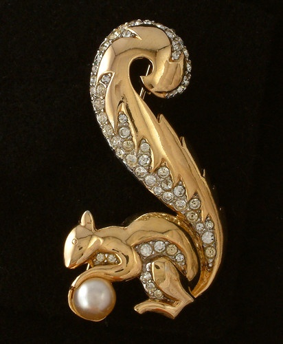 Boucher Black Flower Rose Pin Brooch Signed Numbered: 17 Best Images About BOUCHER On Pinterest