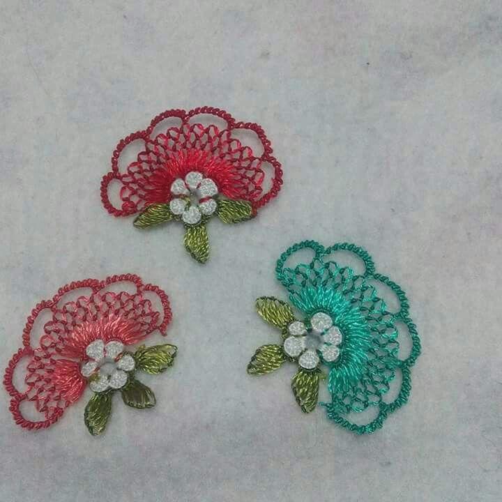 iğne oyası Turkish needle lace