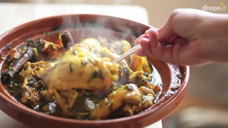 Come fare la tagine di pollo - videoricette di cucina marocchina
