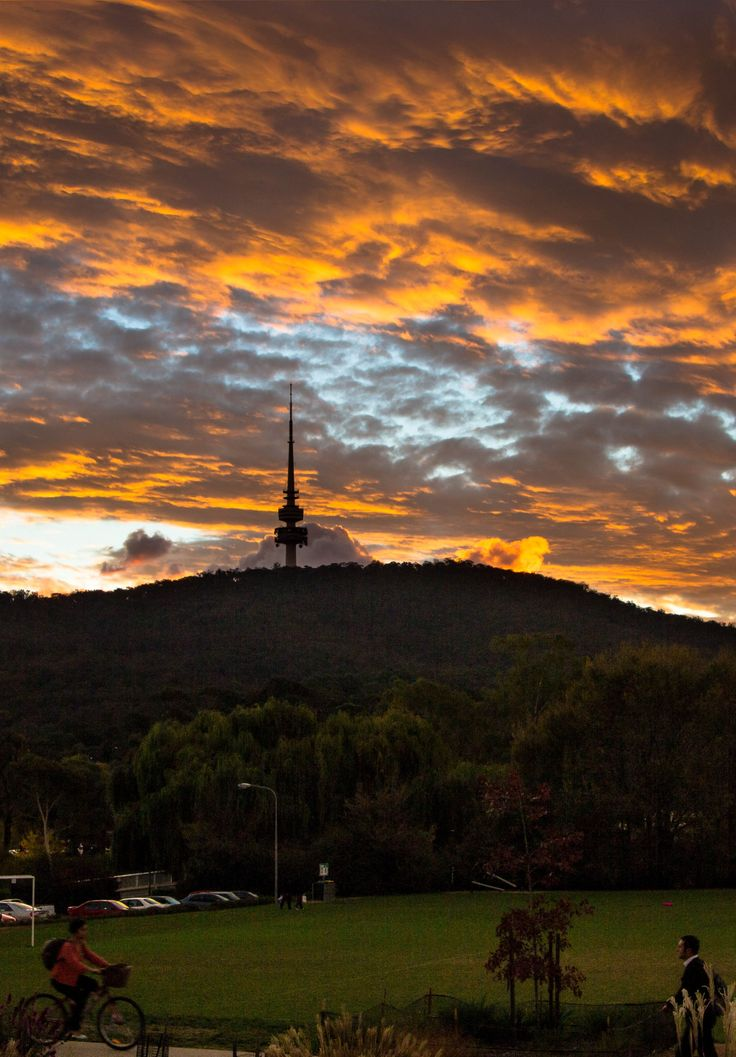 Black Mountain Sunset - Canberra - Australia
