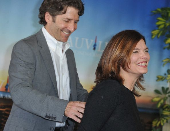 Leland Orser and his wife Jeanne Tripplehorn