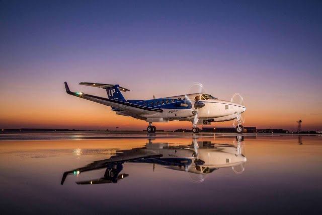 Beechcraft Delivers King Air 350i to Chinese Aviation