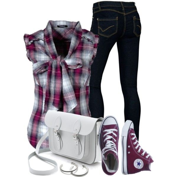 """Plaid"" by wishlist123 on Polyvore"