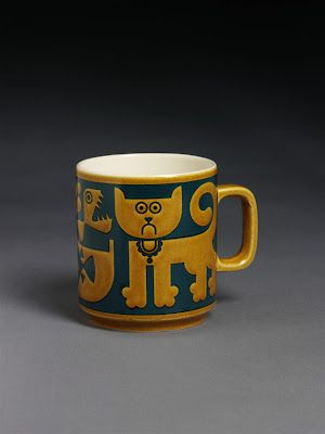 "That face! ""Cat"" Mug by John Clappison"