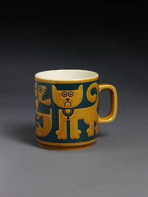 "That face! ""Cat"" Mug by John Clappison"
