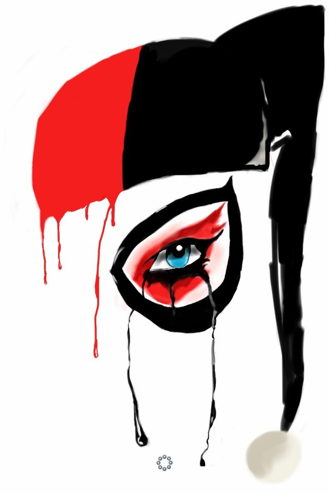 Harley Quinn (Dripping Art)