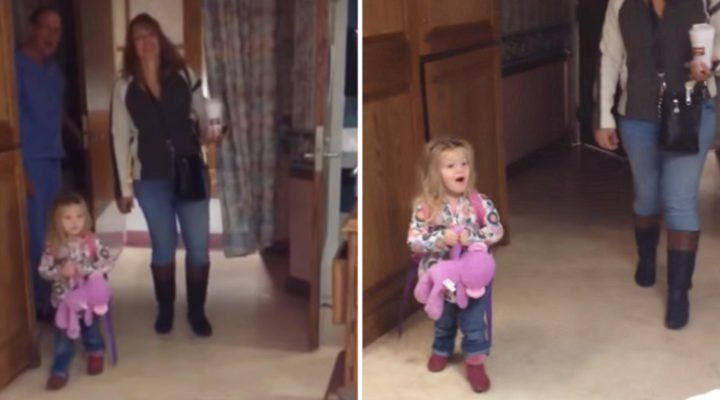 Girl Cautiously Enters Mom's Hospital Room, But Has ...