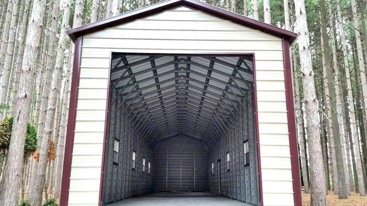 Metal projects, Steel garage