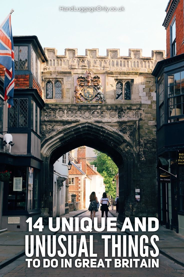 14 Unique Things To See And Do In Great Britain That You Wouldn't Think Of But…