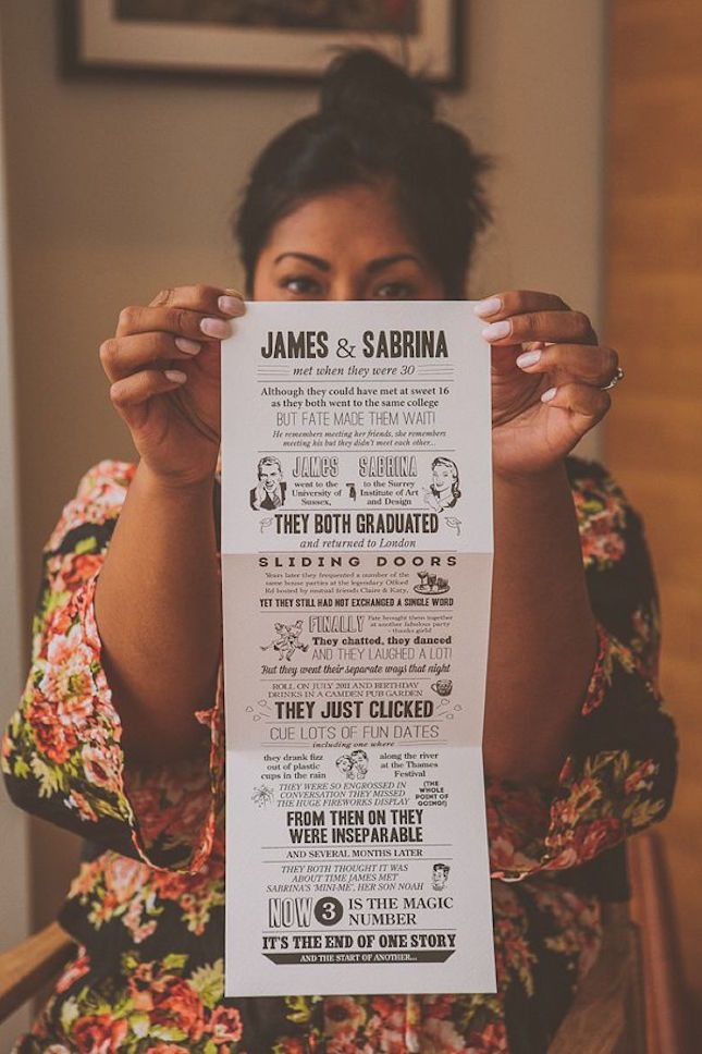 Who would not want to attend these events? - 21 of the Most Creative Wedding Invitations Ever - Brit+Co