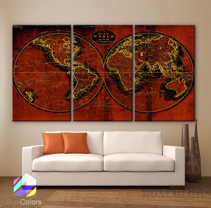 Wall Art Canvas Brown : Best ideas about brown wall decor on