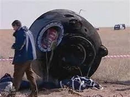 June 29, 1971: SOYUZ 11 CRASH  The second expedition to Salyut-1 ended tragically when the crew died because of decompression of their capsule during descent.