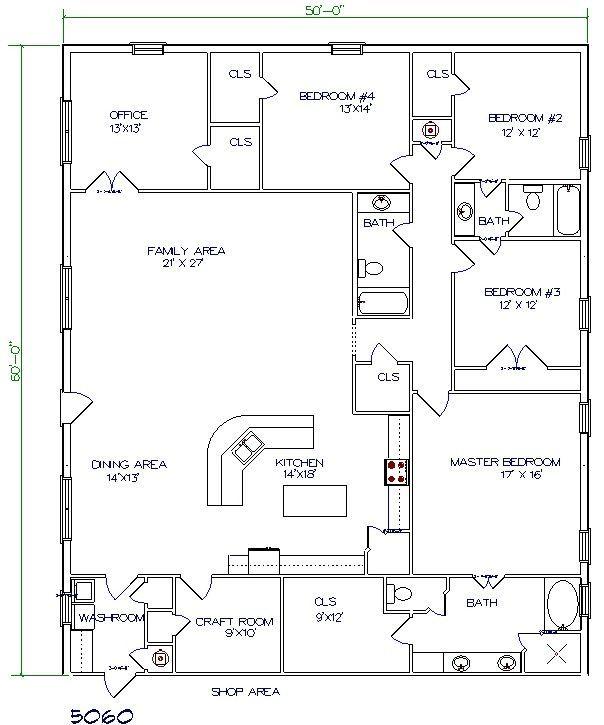332 best shop/house plans images on pinterest | house floor plans
