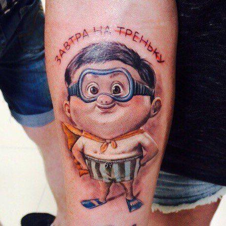 tattoo тату спорт