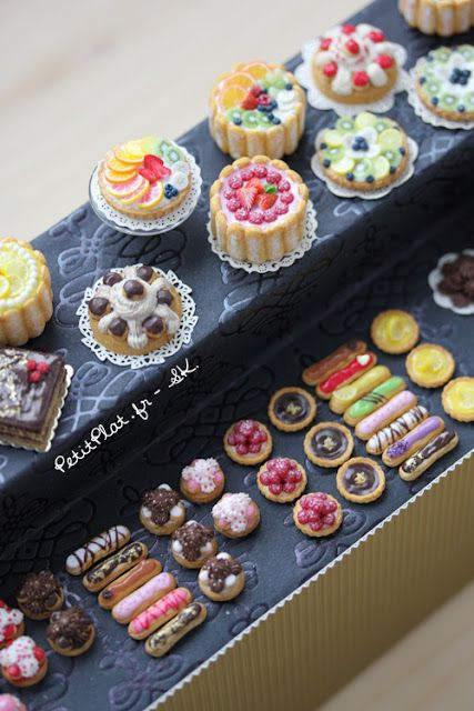 Pâtisserie, definately save this for making mini food with Torgs kit