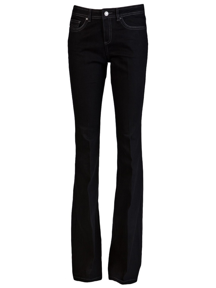 $175 Rachel Zoe 'Rachel' Boot-Cut Jean Black http://roanshop.com/womens-clothing/rachel-zoe-rachel-boot-cut-jean-625.html