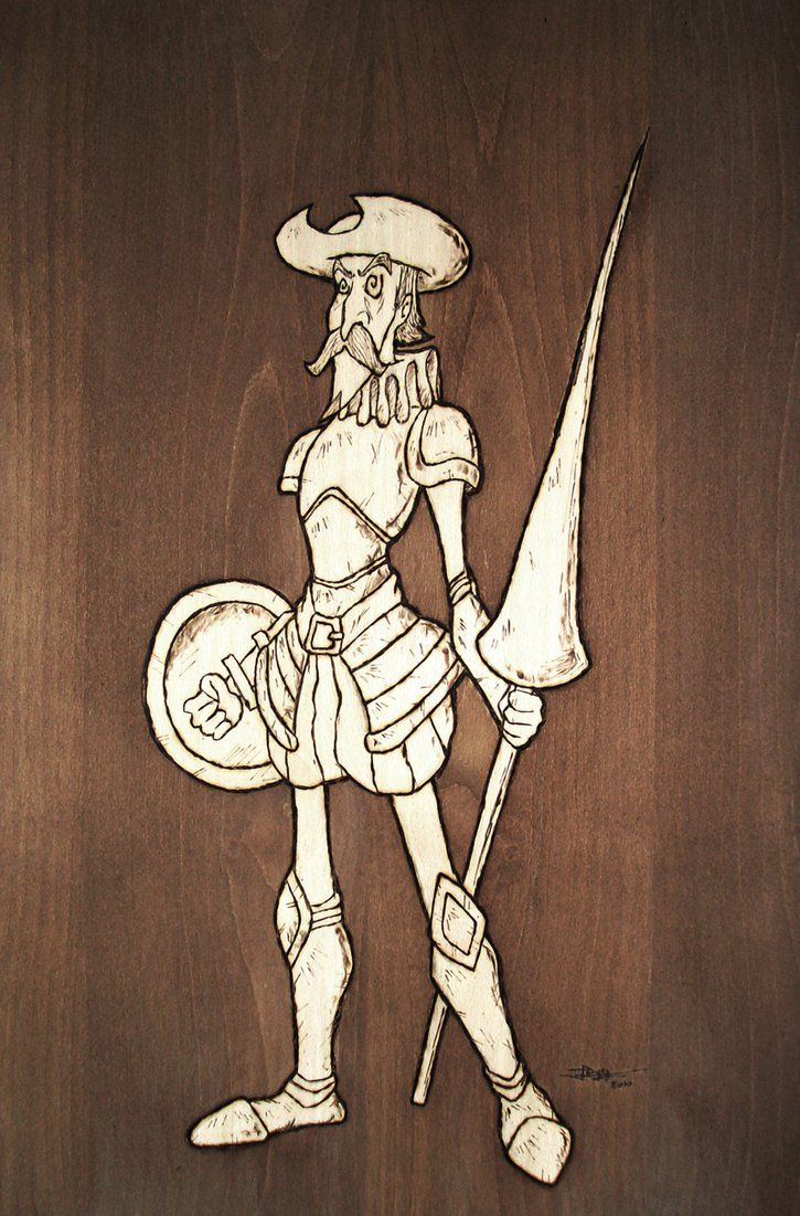 Don Quijote de la Mancha by Jorch.deviantart.com on @DeviantArt