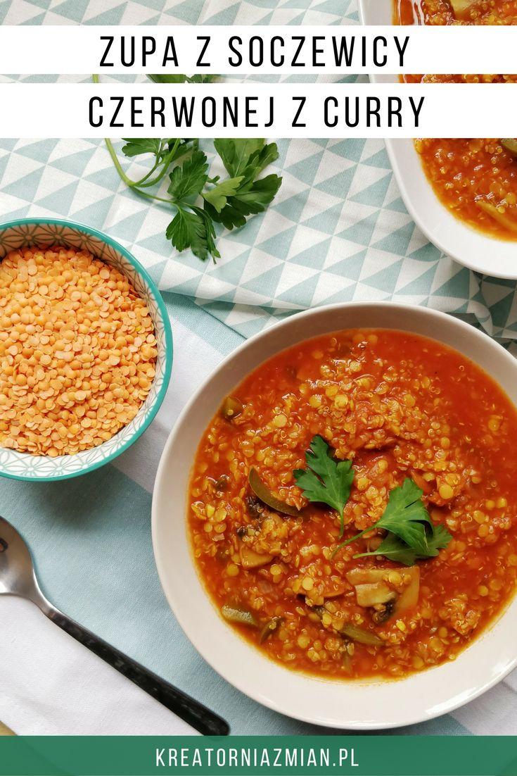 Zupa z soczewicy czerwonej – najprostsza, szybka i super pożywna. Nie wiem czy można chcieć czegoś więcej? Ja swoją wersję przygotowuję w różnych odsłonach, ale baza …