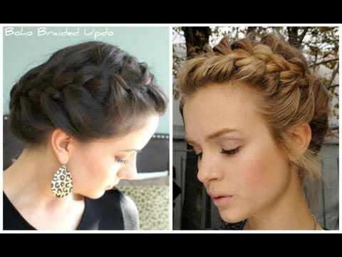 This tutorial shows you how to achieve a relaxed bohemian updo that can be worn casually for work or school, or dressed up for an evening out. Celebrities are seen wearing this on red carpet events all the time. It's very easy to achieve and really pretty!