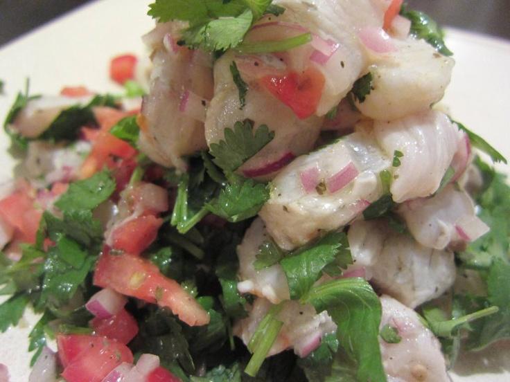 flounder ceviche