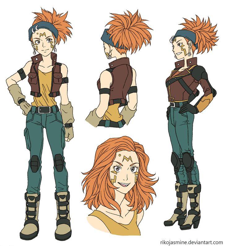 Genderbent Crow Hogan Character design, Crow, Yugioh