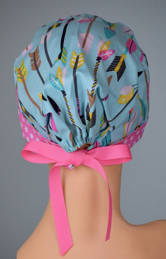 Surgical Scrub Hat or Chemo Cap The Mini with by thehatcottage …