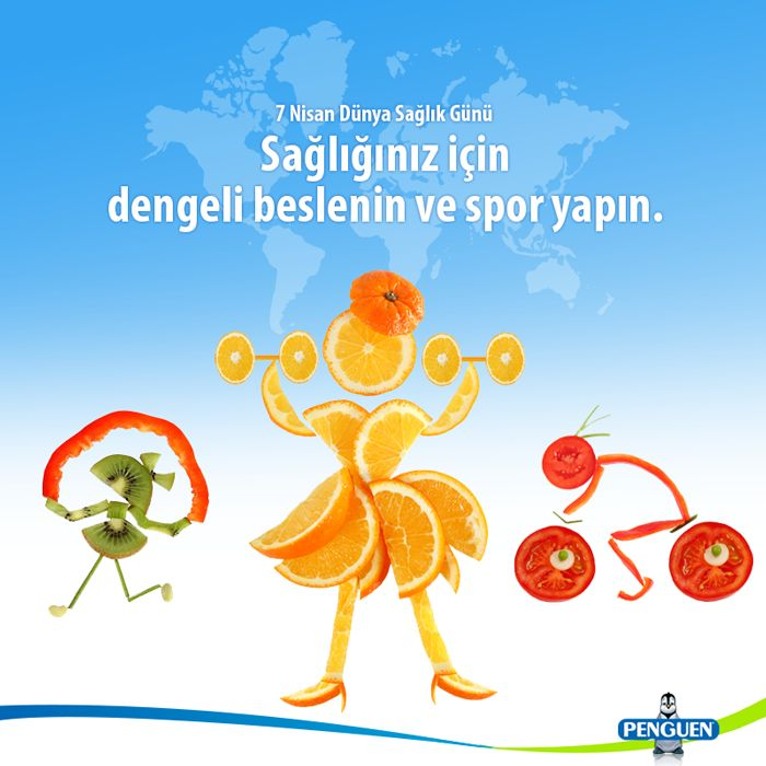 Biz her şeyden önce sağlığınızı önemsiyoruz. Mevsiminde toplanmış, özenle seçilmiş meyve ve sebzeleri her mevsim taze taze yiyebilmeniz için katkı maddeleri kullanmadan konserve haline getiriyoruz. #DünyaSağlıkGünü'nüz kutlu olsun. #Penguen #Katkısız #Lezzet #Sağlık #Güven #PenguenGida
