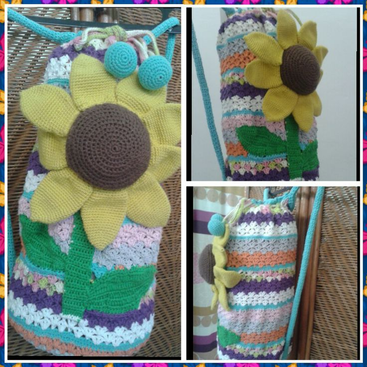 ★Sunflower backpack★
