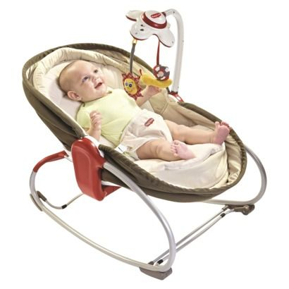 Tiny Love 3-in-1 Rocker Napper - Brown Wish this was cheaper, this is so cool and would be great for traveling and such! Maybe if I sell the bassinet and such...
