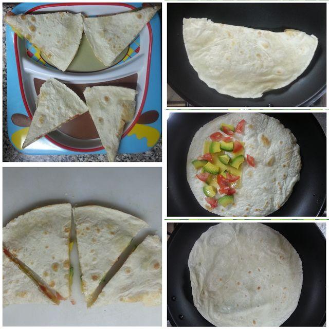 El diario de un mini gourmet: Tortilla mexicana