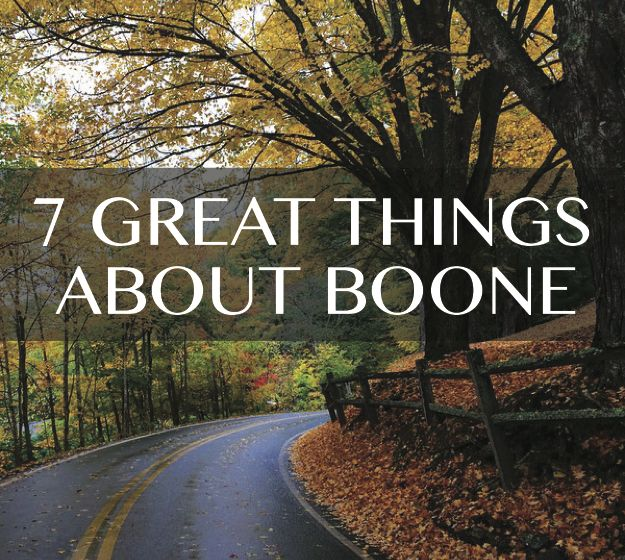 Do these 7 things about Boone NC surprise you?
