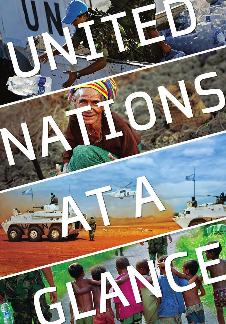 United Nations at a Glance  This authoritative guide provides a starting point for readers who are new to the UN. Illustrated with photos and stories from the field, the guide examines the work of the UN in international peace and security, economic and social development, human rights, and humanitarian action. As a resource to students and teachers alike, additional features include definitions of frequently used terms, rich statistics, questions and answers, and the building blocks of…