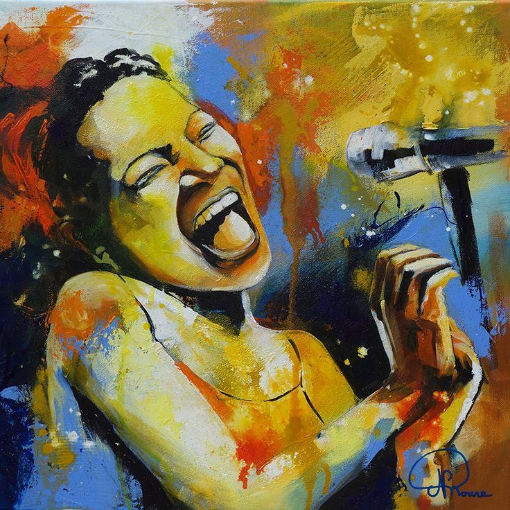 Nathalie Roure Perrier Groove 50 x 50 cm