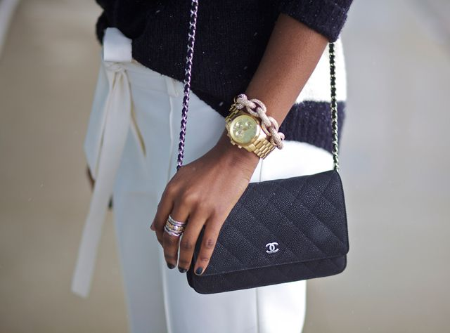 17 Best Images About How To Style Chanel Woc On Pinterest