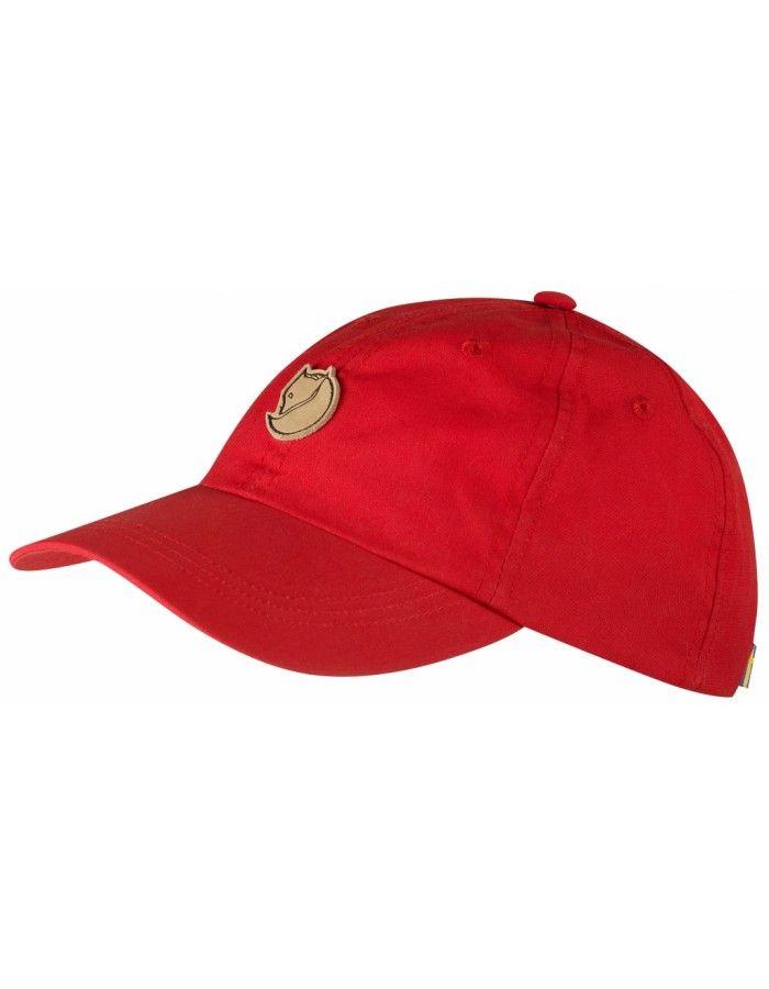 Fjellreven Helags Junior Cap - Red - 1 SIZE