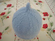 """CHAPITRE 20 - Bonnet bébé """"lutin"""". Modèle gratuit. - L'atelier tricot de Mam'…"""