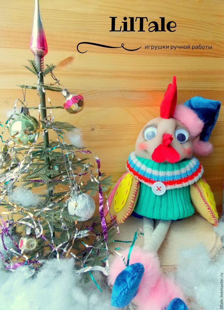 Купить Петух, новогодний подарок, символ 2017 года - петух 2017