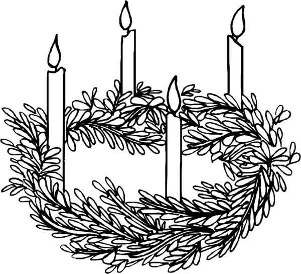 Pin On Advent Coloring Pages