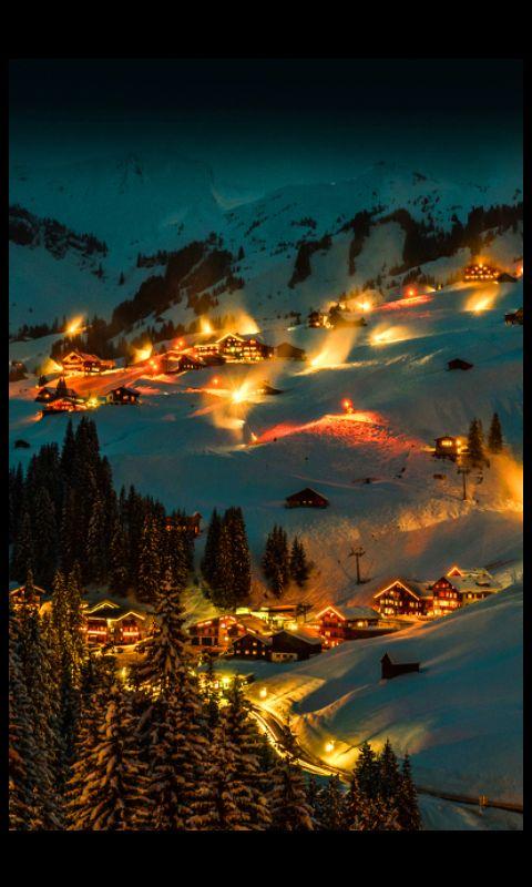 Snow town USA
