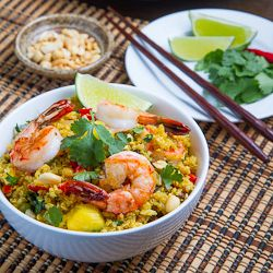 Pineapple and Shrimp Fried Quinoa | Cooking 2 | Pinterest