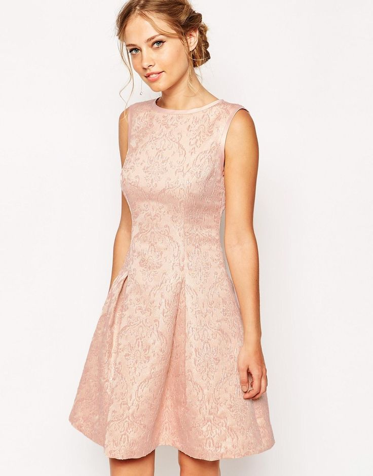 Image 1 of Ted Baker Dress in Jacquard